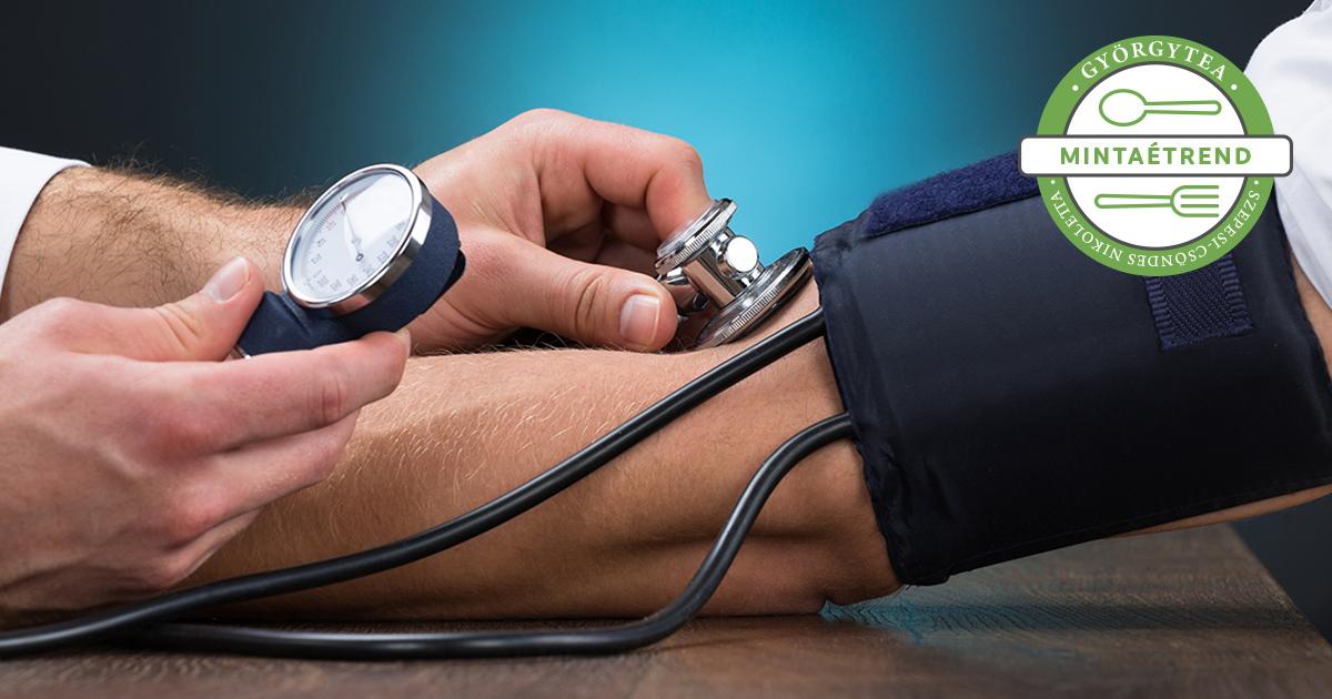 menü egy hétig 3 fokos magas vérnyomás esetén magas vérnyomás 2 fokozat 2 kockázat, mi ez