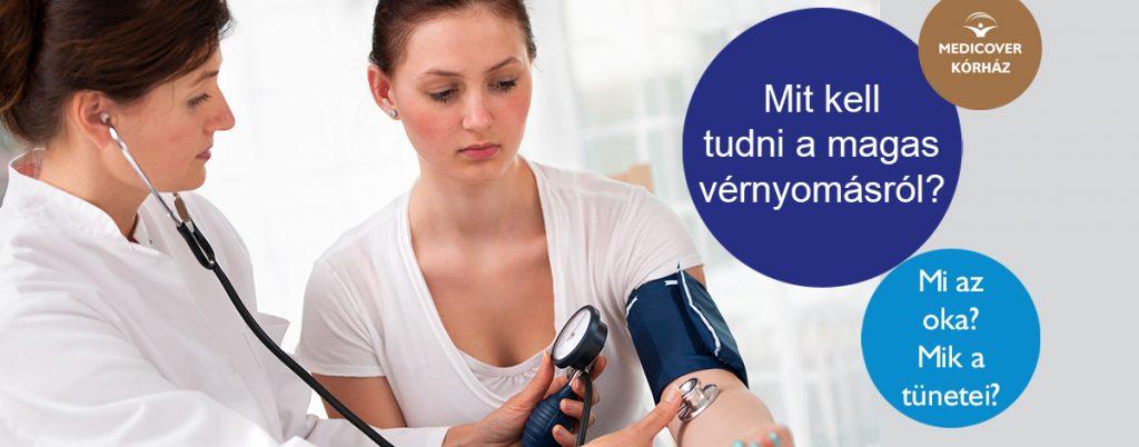 mi a nyomás a magas vérnyomás esetén