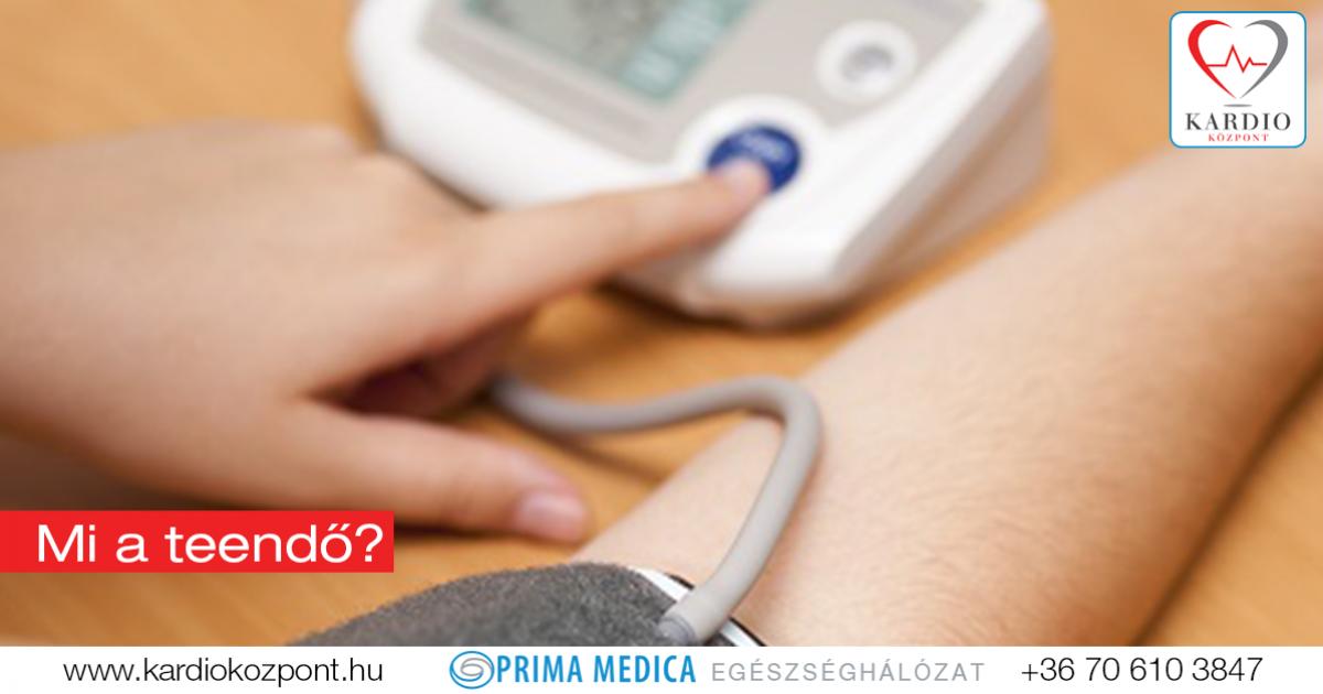 magas vérnyomás aritmia készülék