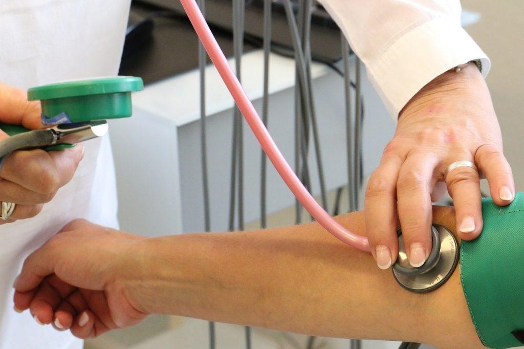 magas vérnyomású nystagmus