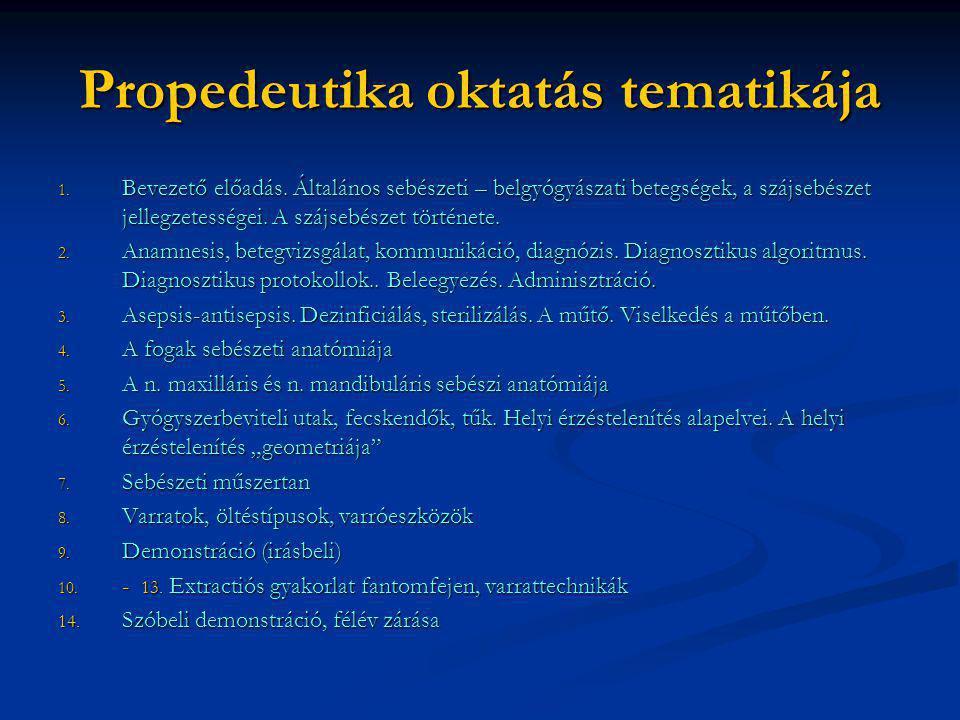 a hipertónia propedeutikai története