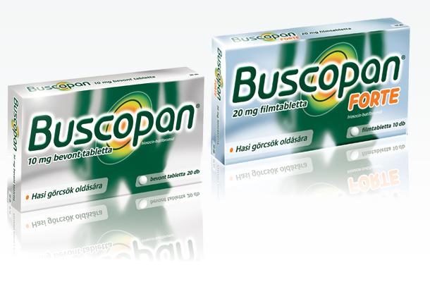BUSCOPAN FORTE 20 mg filmtabletta - Gyógyszerkereső - Háserena-harkany.hu