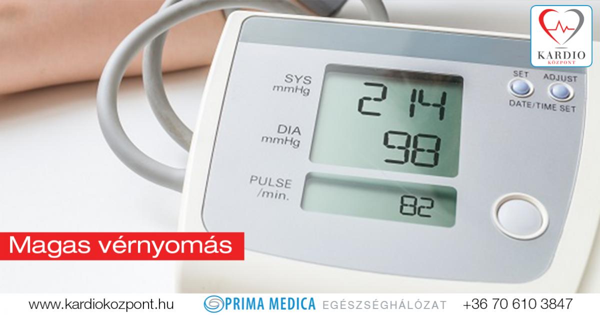 magas vérnyomás és családja