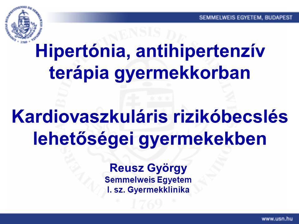 előadások a hipertónia terápiájáról a köles magas vérnyomást kezel