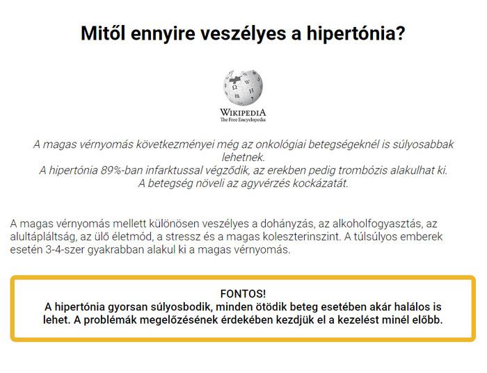 a hipertónia súlyosbodása omega-3 hipertónia esetén