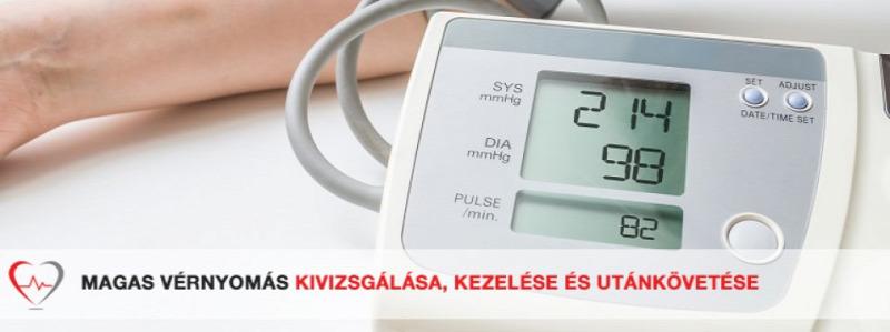 magnetoterápia a magas vérnyomás kezelésében