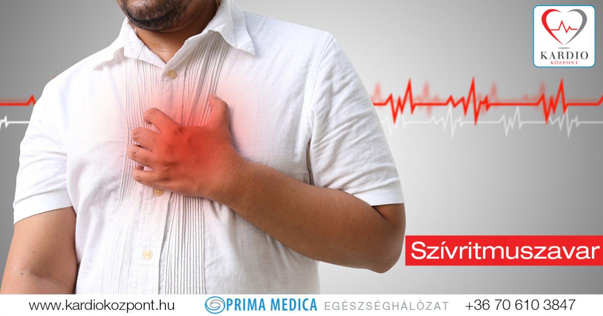 magas vérnyomás okozta ritmuszavar